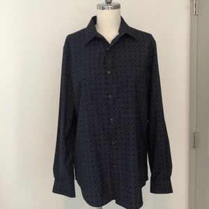 Perry Ellis Stretch Long Sleeve Button Down